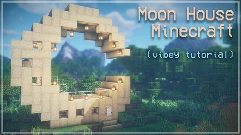 minecraft moon house relaxing tutorial magical cottagecore cottage core kelpie  fox