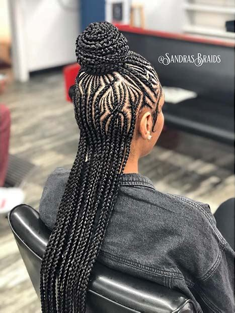 trendy ways  rock african braids short pixie cuts
