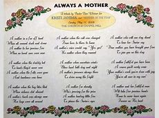 20+ Adorable Mothers Day Poems Unique Viral
