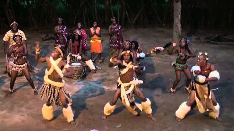 Traditional Zulu Dances In The Kruger National Park (south
