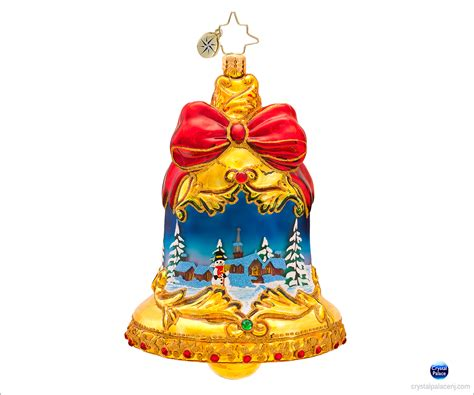christopher radko ring in the season christmas ornament