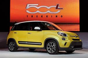 2014 Fiat 500l Trekking Takes The Hatchback Into The Big