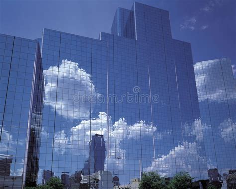 curtain wall reflection stock image image  abstract