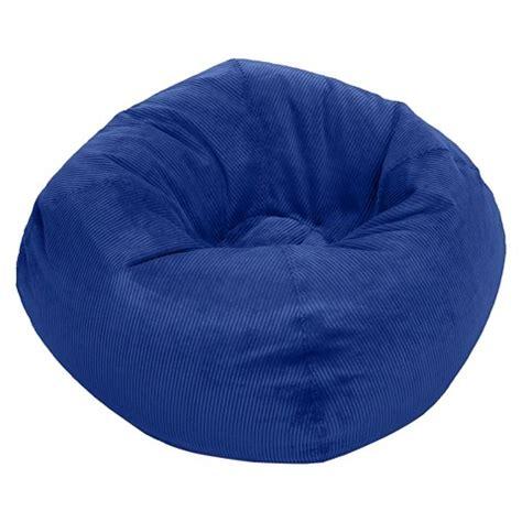 ace bayou corduroy bean bag chair blue target