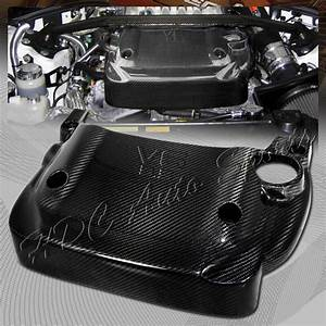 For Nissan 350z Z33 V6 3 5 Fairlady Light Weight Real Carbon Fiber Engine Cover