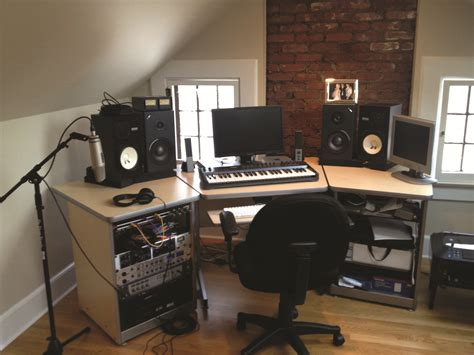 Craft Room Home Studio Setup by How To Set Up Your Own Home Recording Studio