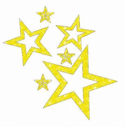 Graphics Glitter Stars Falling Golden Sunday Sparkles