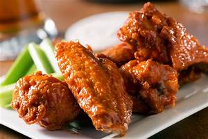 Paleo Buffalo Wings With Dairy