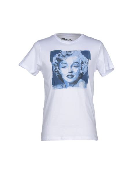 kaos sleeve cooper kaos t shirt in white for lyst
