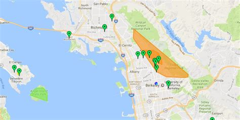 update  peak  affected  berkeley hills power