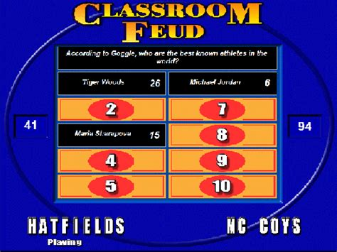 Family Feud Customizable Template by Customizable Family Feud Software Howtoebooks Info