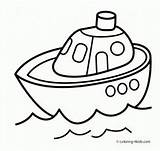 Coloring Transportation Transport Ship Printable Submarine Drawing Air Mixer Cement Truck Sheets Printables Boys 4kids Toddlers Preschool Preschoolers Coloringhome Ships sketch template