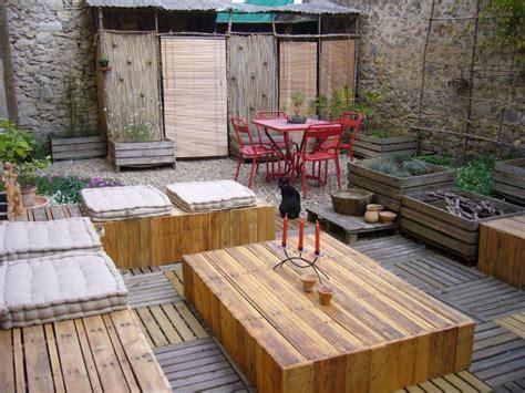 palette mobilier de jardin qaland com