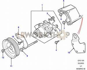 Power Steering Pump - V8 3 9  4 0l Efi