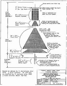 Plans And Parts List   U0026quot Texas U0026quot  Style Cone Trap For