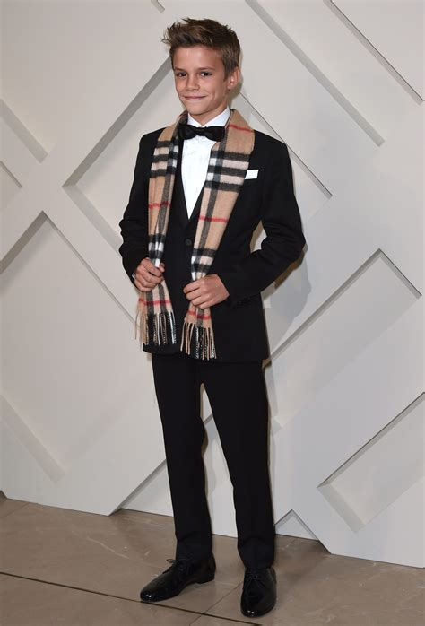 Romeo Beckham Is Burberry's Newest Model - Fame10