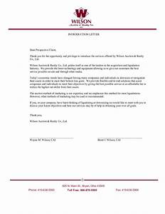 2018 Introduction Letter Templates - Fillable, Printable ...