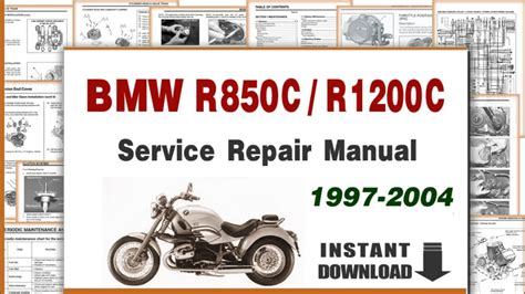 1997-2004 Bmw R850c R1200c Service Repair Manual