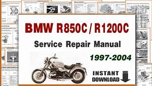 1997-2004 Bmw R850c R1200c Service Repair Manual