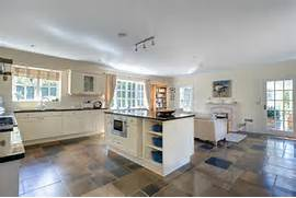 Delectable White Kitchen Cabinets Slate Floor Gallery White Kitchen Next To Slate Floor Alongside Off White Cabinets And