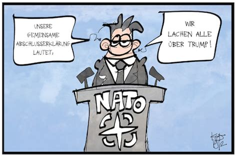 NATO-Gipfel By Kostas Koufogiorgos   Politics Cartoon ...