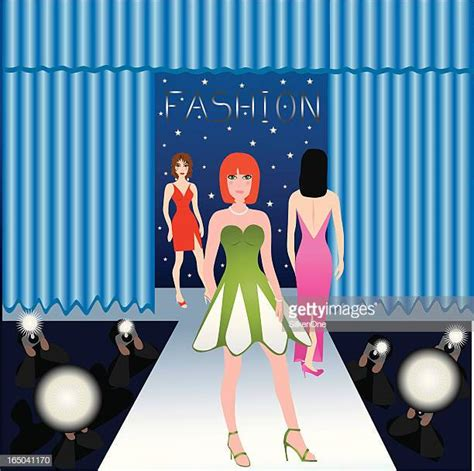 Fashion Show Stock Illustrations Getty Images