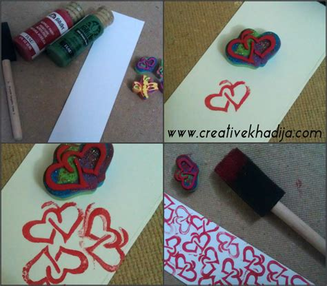 Bookmarkcard Making With Stamping