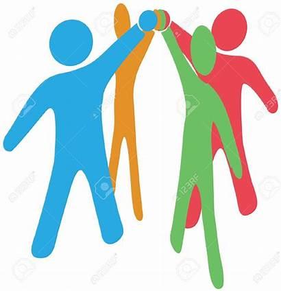 Clipart Team Together Teamwork Hands Join Clip