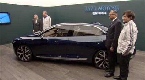 Tata Evision Sedan Concept Unveiled At Geneva Motor Show