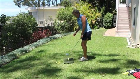 Backyard Golf Drills by 19 The Golf Web Tv Chipping Drill In Your