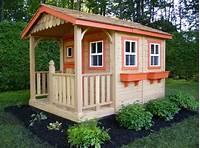 playhouse for kids DIY Designs - Kids Pallet Playhouse Plans   Wooden Pallet ...
