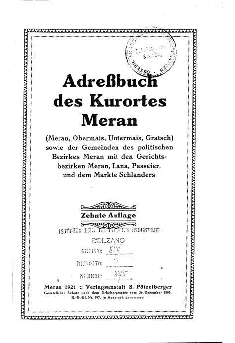 Libreria Artigianelli Trento by Digitalisierter Bestand Der Landesbibliothek Dr Friedrich