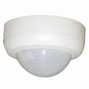 Detecteur De Presence Interieur : d tecteur de mouvement plafond apparent 360 beg luxomat ~ Dailycaller-alerts.com Idées de Décoration