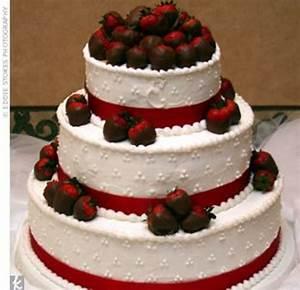 Chocolate Covered Strawberry Wedding Cake - CakeCentral.com