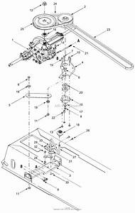 Mtd 13a7660g752  2004  Parts Diagram For Drive