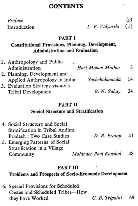 Applied Anthropology and Development in India