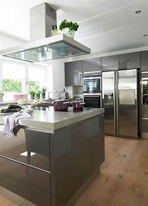 Küche Mit Amerikanischem Kühlschrank : villa im landhausstil ~ Sanjose-hotels-ca.com Haus und Dekorationen
