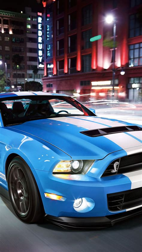 Light Blue Sports Cars by Light Blue Ford Shelby Sport Car Android Wallpaper Free