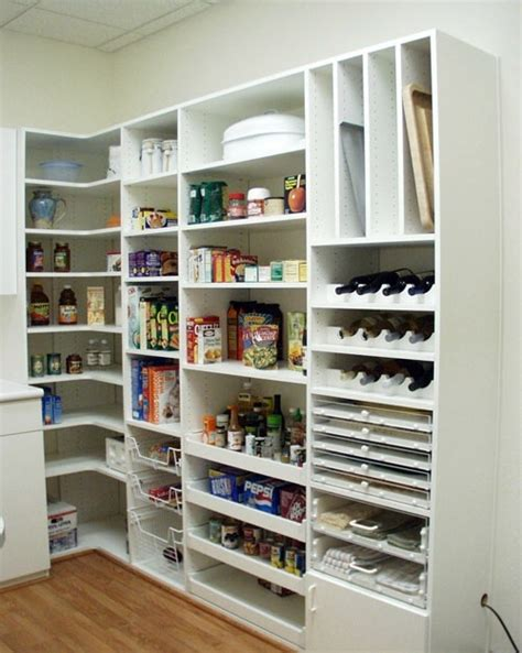 Great Pantry Designs by 20 Great Ideas In The Kitchen Pantry Food Storage