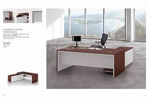 latest design executive table office desk solid wood ...