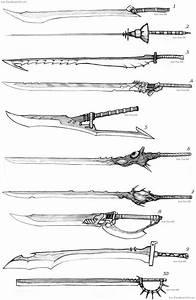 Swords | ANIME CHARACTER DESIGN | Pinterest | Beautiful ...