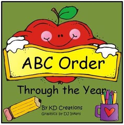 187 best images about abc order on pinterest the alphabet activities and student
