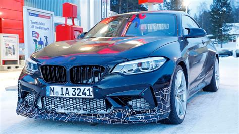 Spied! Possible Bmw M2 Cs Caught Almost Completely