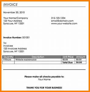 How to write up an invoice writing an invoice for for How to write up an invoice