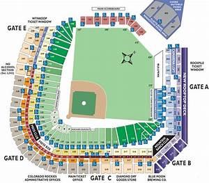Ballpark Seating Charts Ballparks Of Baseball