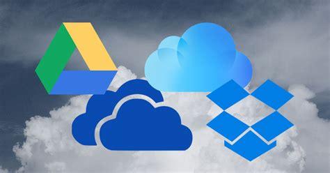 cloud storage google drive  onedrive  dropbox