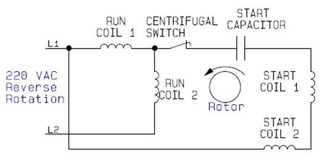 Internal Wiring Configuration For Dual Voltage