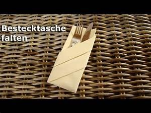Servietten Falten Bestecktasche : servietten falten bestecktasche z b f r hochzeit youtube ~ Frokenaadalensverden.com Haus und Dekorationen