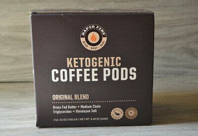 Each ingredient has been carefully selected and with you in mind. Rapid Fire Ketogenic Keto Original Blend Coffee Pods, 16 K-Cups BURN FAT | eBay