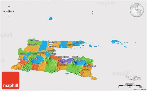 political  map  east java cropped